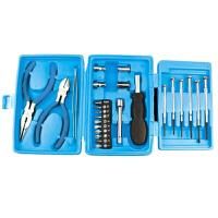 25件迷你五金家用工具套装礼品工具手动维修小工具箱 颜色随机