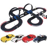 男孩儿童玩具套装轨道车电动遥控轨道汽车赛车