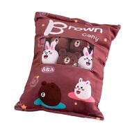 ins可爱小兔子毛绒玩具超软仿真创意零食抱枕毛绒玩具少女心玩偶生日礼物 抱枕