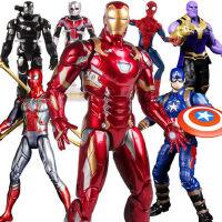 钢铁侠手办漫威复仇者联盟4美国队长蜘蛛侠玩具模型mk85正版摆件3