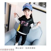 冬季儿童女宝宝春秋装套装女童衣服洋气三件套0-1-2-3周岁4韩版潮秋冬新款