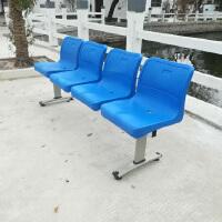 金励成59-15# 机场椅排椅输液塑料公共休息候车椅银行等候椅医院候诊椅车站长椅