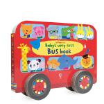 英文原版进口绘本 Baby's Very First Bus Book 小宝宝的巴士 尤斯伯恩图画书 儿童启蒙英语单词