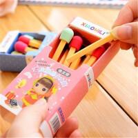 可爱创意橡皮 天卓41130 卖火柴的小女孩 卡通学生橡皮擦儿童奖品 颜色随机发货单盒价格