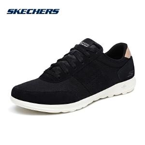 Skechers斯凯奇女鞋新款透气网布低帮健步鞋 轻便运动鞋 15464