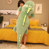 软趴趴恐龙毛绒玩具可爱睡觉抱枕女娃娃玩偶男生公仔极软懒人枕头