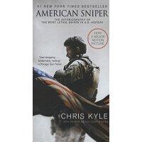 American Sniper 美国狙击手【英文原版 电影封面版、美军第一狙击手:一个美军海豹突击队员的生死狙击 、电