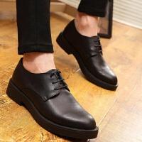 DAZED CONFUSED2017秋季新款男士英伦风皮鞋韩版内增高正装商务厚底婚鞋子