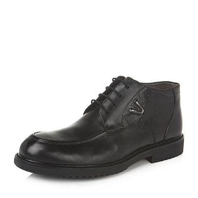 Belle/百丽专柜同款油皮牛皮男休闲靴33842DD5