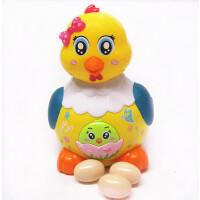 下蛋小母鸡会跑会叫小鸡男女宝宝益智6-12个月婴儿玩具1-2-3周岁