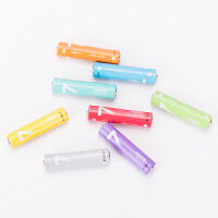 MINISO名创优品彩虹系列碱性电池5号7号8粒装玩具遥控干电池