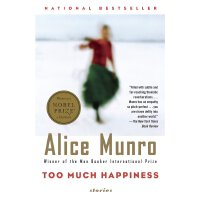 英文原版 艾丽丝・门罗:幸福过了头 诺贝尔文学奖 Alice Munro: Too Much Happiness