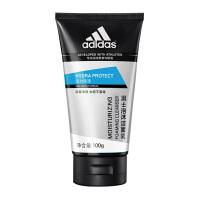 阿迪达斯(adidas) 男士洗面奶深层 清洁控油保湿洁面乳 男士活力保湿泡沫洁面乳100g+50g