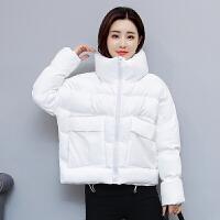 棉衣女短款宽松学生bf面包服可爱收腰加厚小棉袄外套