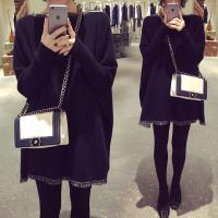 秋冬款长袖两件套孕妇套装2018秋季时尚款潮妈韩版宽松孕妇装毛衣