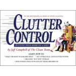 【正版全新直发】Clutter Control Putting Your Home on a Diet Jeff Ca