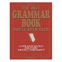 【现货】英文原版 The Only Grammar Book You'll Ever Need 你永远需要的语法书 平