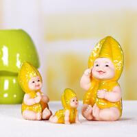 杨桃宝贝婚庆礼物创意礼品装饰品家居摆设摆件桌面小摆件可爱娃娃
