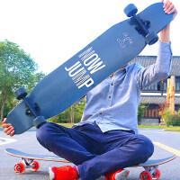 四轮滑板车刷街男女生舞板初学者韩国潮牌长板公路抖音滑板