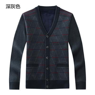 季中老年男士羊毛衫开衫中年男v领毛衣外套老年人羊绒衫 发货周期:一般在付款后2-90天左右发货,具体发货时间请以与客服协商的时间为准