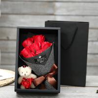 肥皂花生日礼物女六一儿童节礼物七夕情人节礼物创意浪漫香皂花礼盒送女友走心礼品
