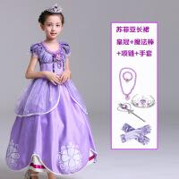 万圣节儿童服装女童白雪公主裙幼儿园角色扮演化妆舞会礼服