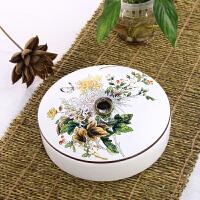 普洱茶盒 陶瓷茶叶罐包装盒茶饼茶罐 普洱大码