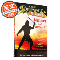神奇树屋 英文原版童书 Ninjas and Samurai: A Nonfiction Companion to M