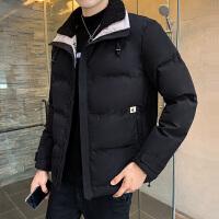 男日系复古短款棉衣冬季外套棉服2019新款加厚立领冬装男士棉袄子
