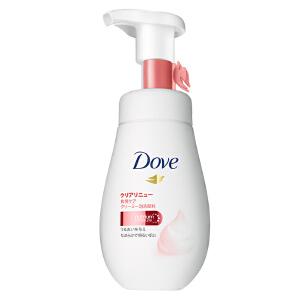 多芬/Dove 氨基酸洁面泡泡 净亮弹嫩慕斯泡沫 160ml