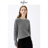 伊芙丽2018冬装新款韩版时尚女装毛针织衫1187938271