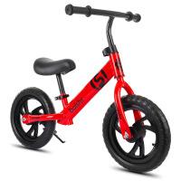 礼品儿童平衡车 2-6岁男女小孩滑行车 12寸无脚踏溜溜学步车 12