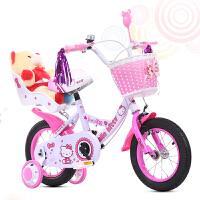 新款宝宝小孩3/6/8岁小孩公主车儿童自行车12寸14寸16寸18的公主单车女款脚踏童车6