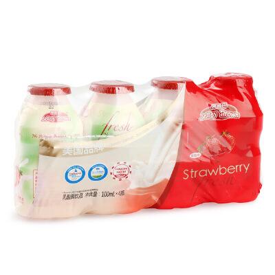 界界乐/Jelley Brown 美国品牌益生菌饮品 草莓味 酸奶乳酸菌饮料
