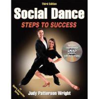 【预订】Social Dance: Steps to Success [With DVD]
