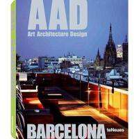 【预订】Art, Architecture, Design City Guide: Barcelona