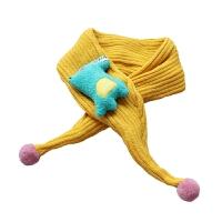 秋冬儿童宝宝毛线围巾1男童加厚保暖围脖2女童围巾5个月-8岁新款
