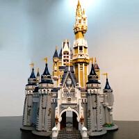 城堡乐园公主模型兼容乐高积木拼装女孩冰雪奇缘玩具儿童节礼物