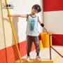 小虎宝儿男童背心外穿潮2020夏季新款儿童无袖上衣中大童洋气韩版