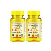 【网易考拉】【美颜淡斑】Puritan's Pride 普丽普莱 维生素E-100IU胶囊 100粒*2瓶
