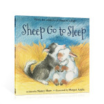 英文原版进口绘本 吉普系列Sheep go to sleep 小羊去睡觉 平装 儿童启蒙亲子睡前晚安图文故事读物书籍