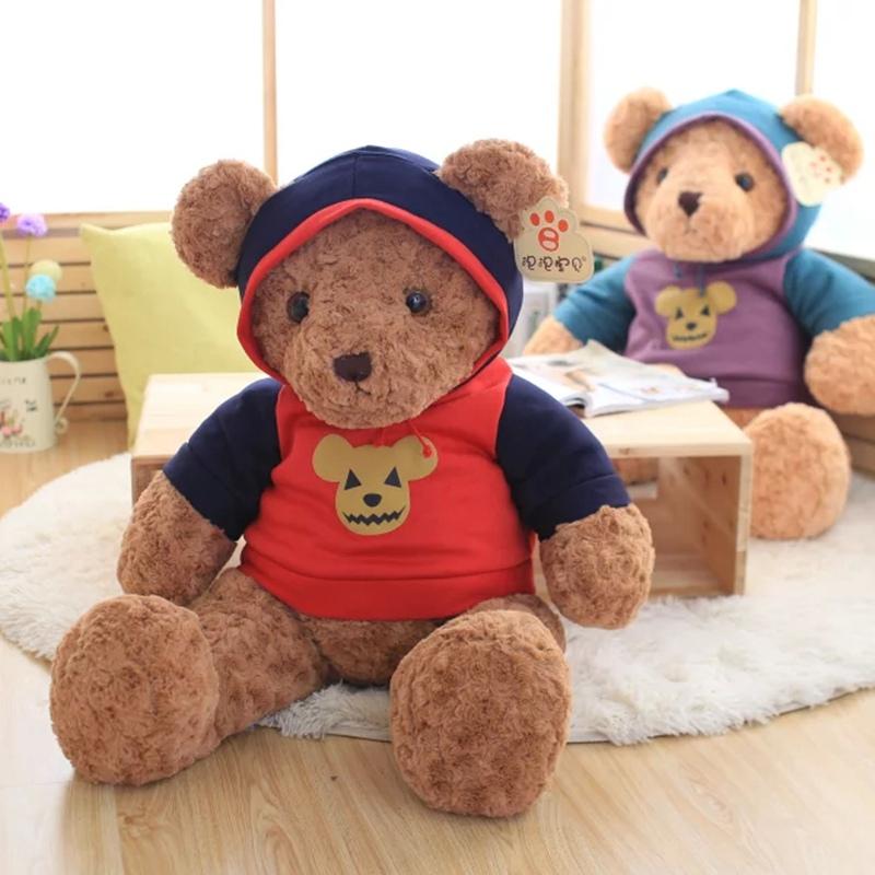 毛绒玩具穿衣暴力熊公仔大抱抱熊玩偶娃娃女生生日礼物