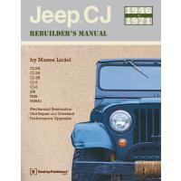 【预订】Jeep CJ Rebuilder's Manual 1946 to 1971