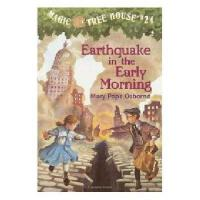 【现货】英文原版儿童书 Earthquake in the Early Morning 神奇树屋24;绝命大地震 新旧
