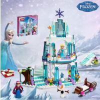 儿童益智拼装兼容乐高积木拼插房子城堡女孩玩具礼物4-6-8岁新