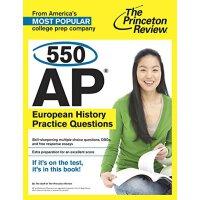 550 AP European History Practice Questions AP 美国大学预修课程系列丛书之