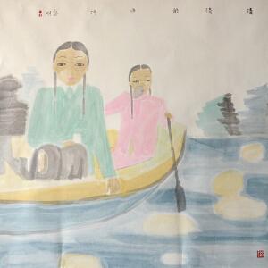 田黎明 中国艺术研究院副院长《清清的小河》