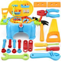 儿童工具箱套装8-10岁过家家修理台小孩男童3-5-6岁7玩具男孩宝宝