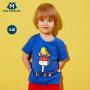 【129元选3件】迷你巴拉巴拉男童短袖T恤纯棉儿童童装夏装度假风上衣男宝宝体恤