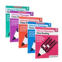 【全店300减100】英文原版 Literary Passages Close Reading Grade1-6分级读物